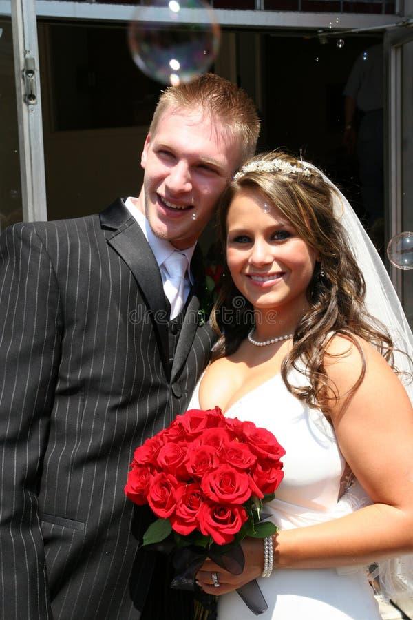 Braut und Bräutigam 9 lizenzfreie stockfotos
