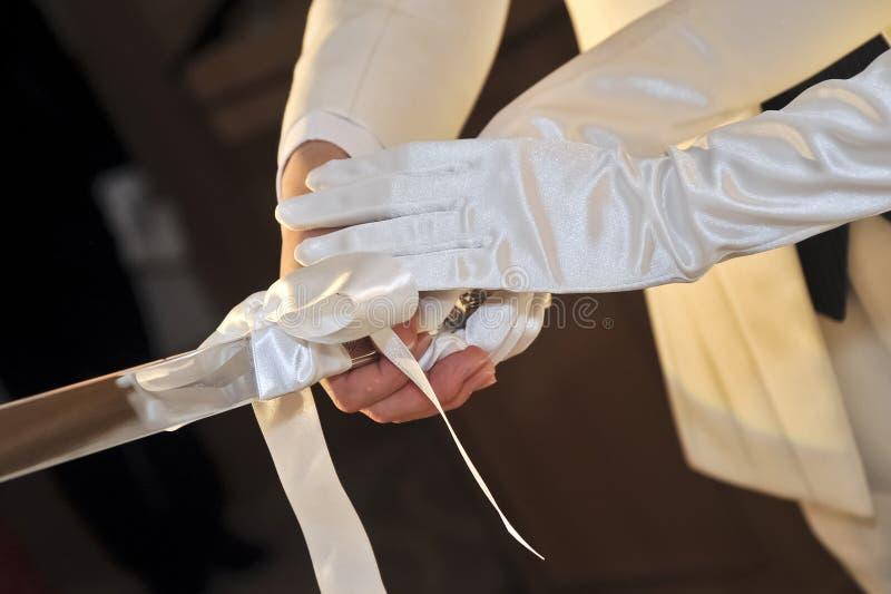 Brautbild-, herrliche und elegantesehr nette Hochzeit lizenzfreie stockfotografie