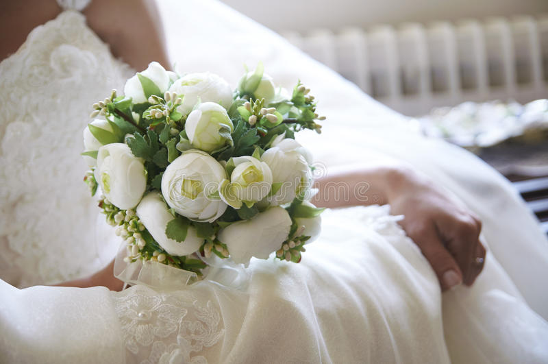 Brautblume stockbild