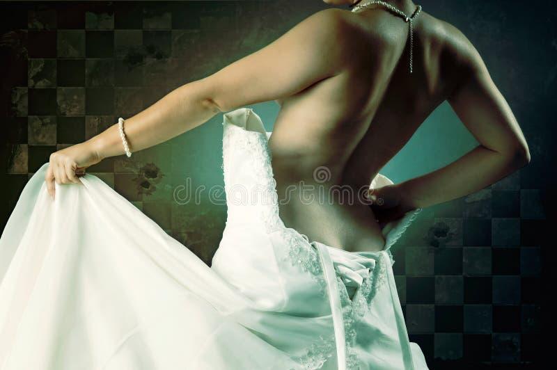 Brautkörperteil stockfoto