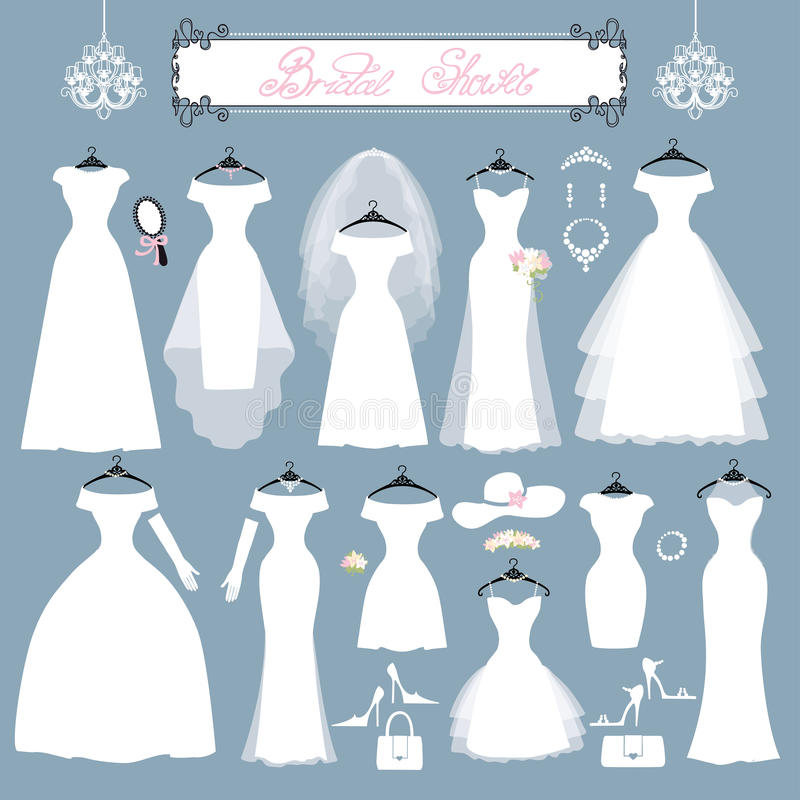 Fantastisch Hochzeitskleider Und Zubehör Bilder - Brautkleider Ideen ...