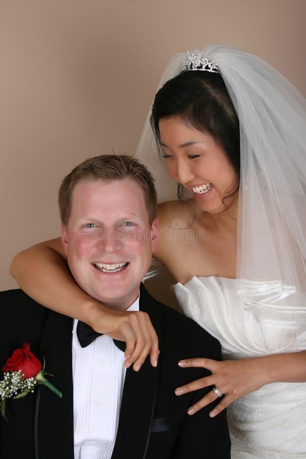 Brautpaare stockbild