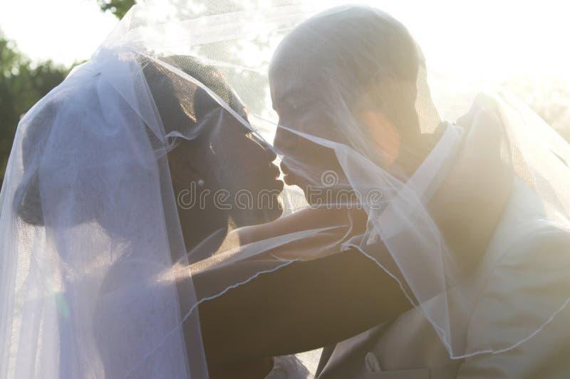 Brautpaare stockbilder
