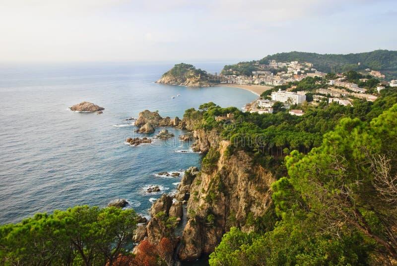 brava costa de Mar s Spain tossa fotografia stock