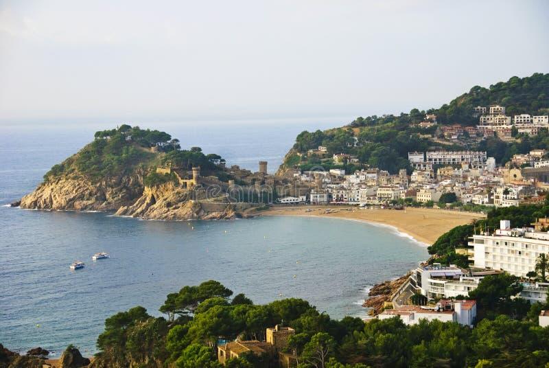 brava costa de Mar s Spain tossa zdjęcia stock