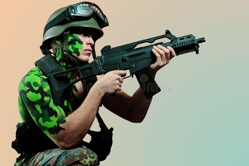 Download Brave stock image. Image of military, aggressive, caucasian - 19074045