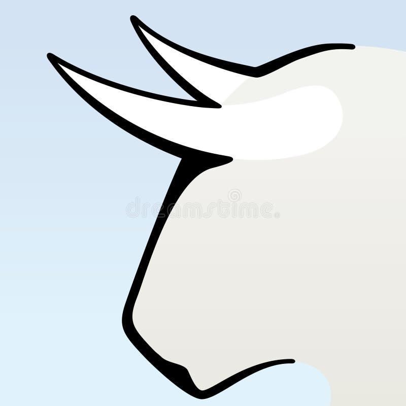 Download Brave bull head stock vector. Image of icon, head, brave - 12066006