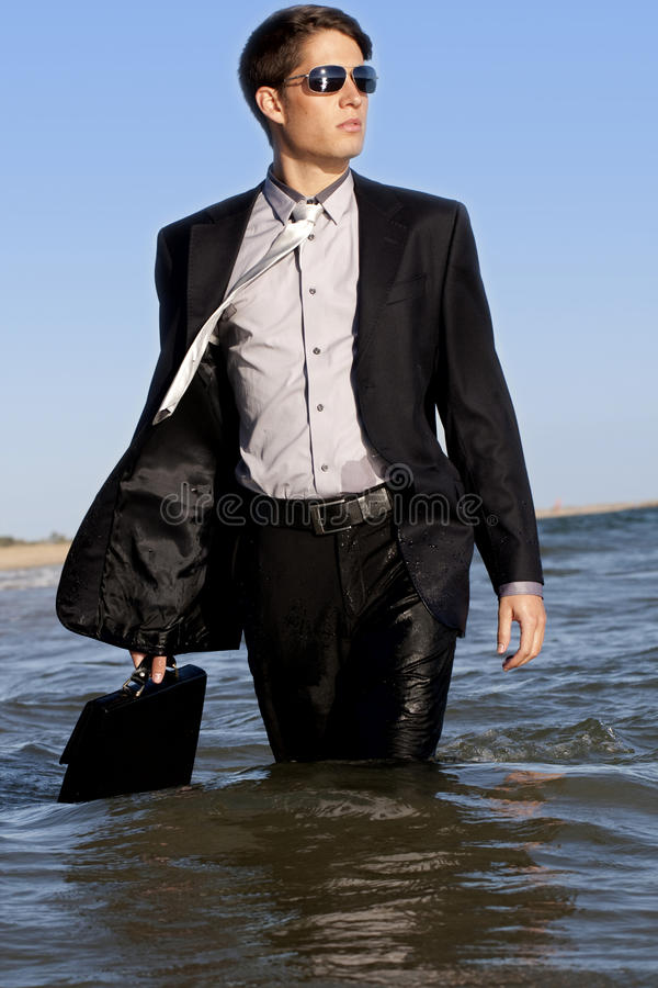 Download Brave business man stock image. Image of weird, male - 16716437