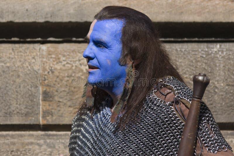 Braveheart bij het Festival van Edinburgh stock fotografie