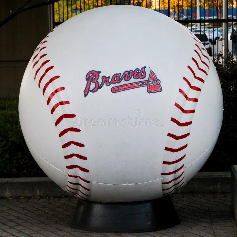 Free Braves Baseball Royalty Free Stock Photography - 92510877