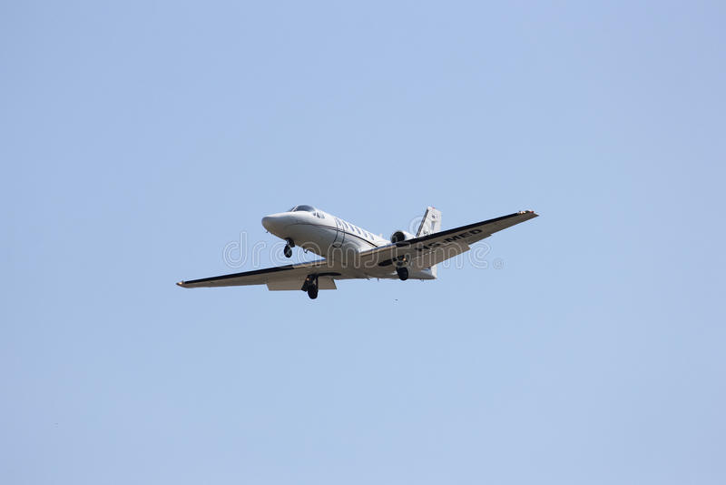 Bravo de citation de HS-MED Cessna 550 de MJets photo stock