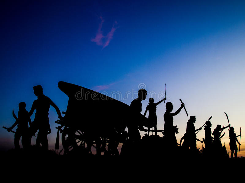 Bravoure commémorative photographie stock libre de droits
