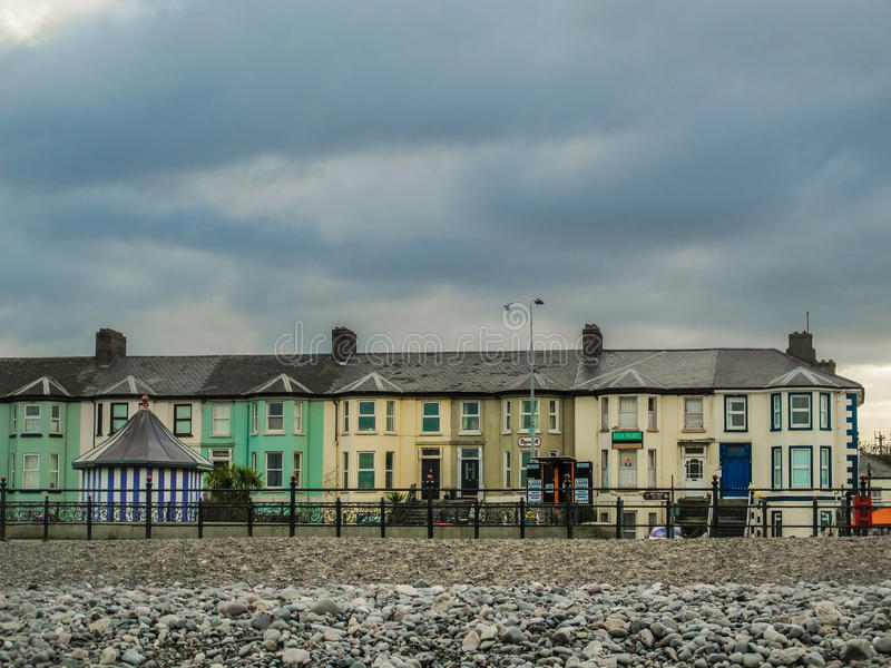 Bray Front Row royalty free stock images
