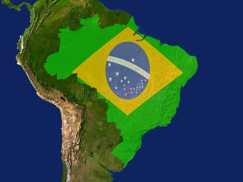 brazil royalty ilustracja