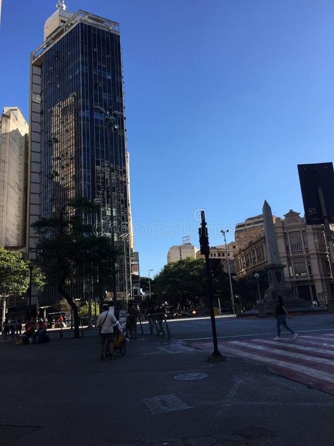 Brazil. BH - Minas Gérais wonderful city stock images