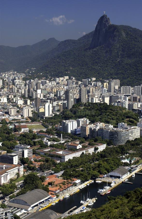 brazil christ de janeiro redeemer rio royaltyfria bilder