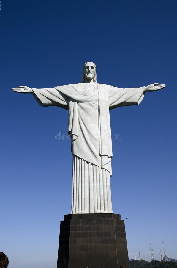 brazil christ redeemer arkivfoto
