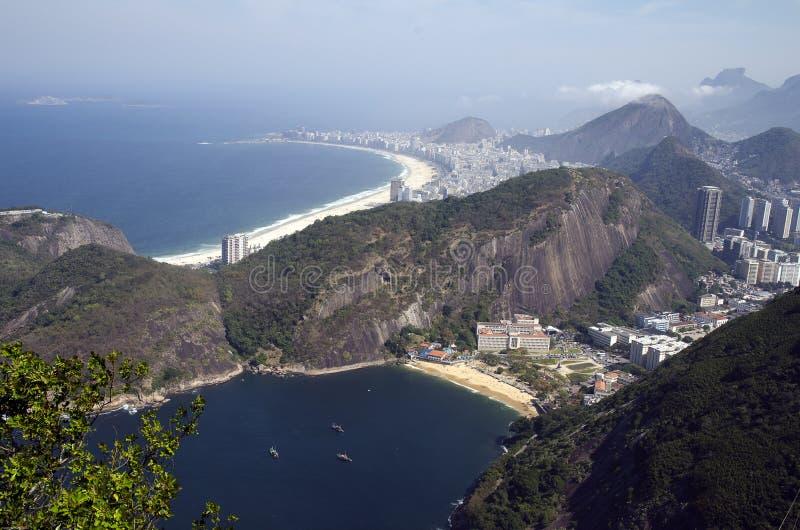 brazil copacabana fotografia stock