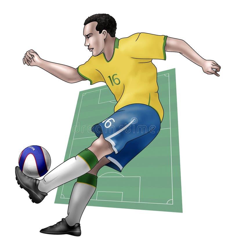 brazil drużyna ilustracji