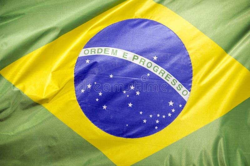 brazil flagga arkivfoton