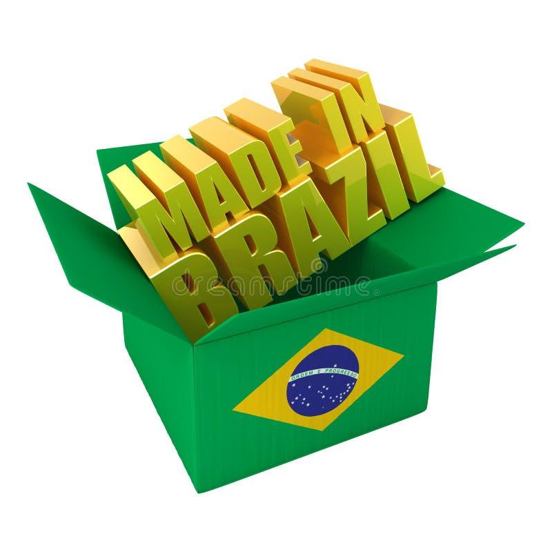 Download Brazil gjorde stock illustrationer. Illustration av trans - 19777189