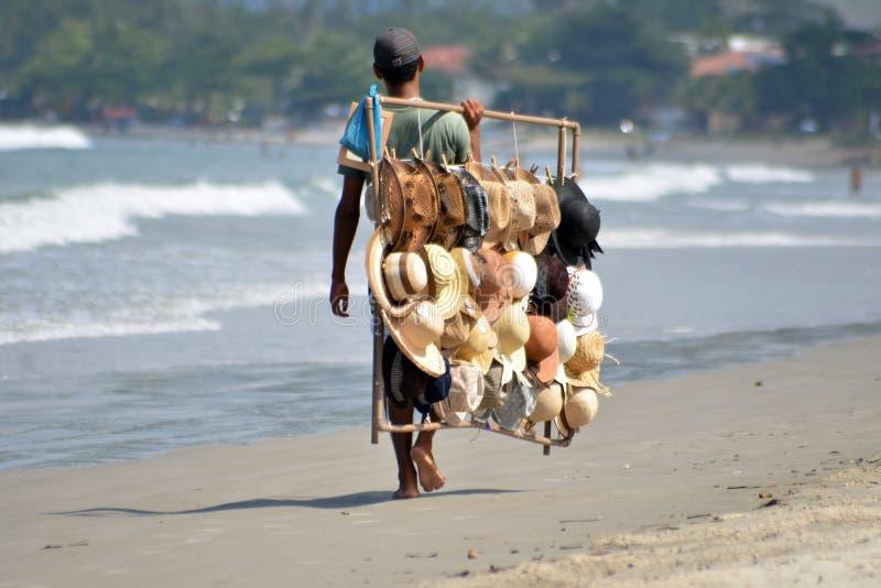 brazil kapeluszu sprzedawca fotografia stock