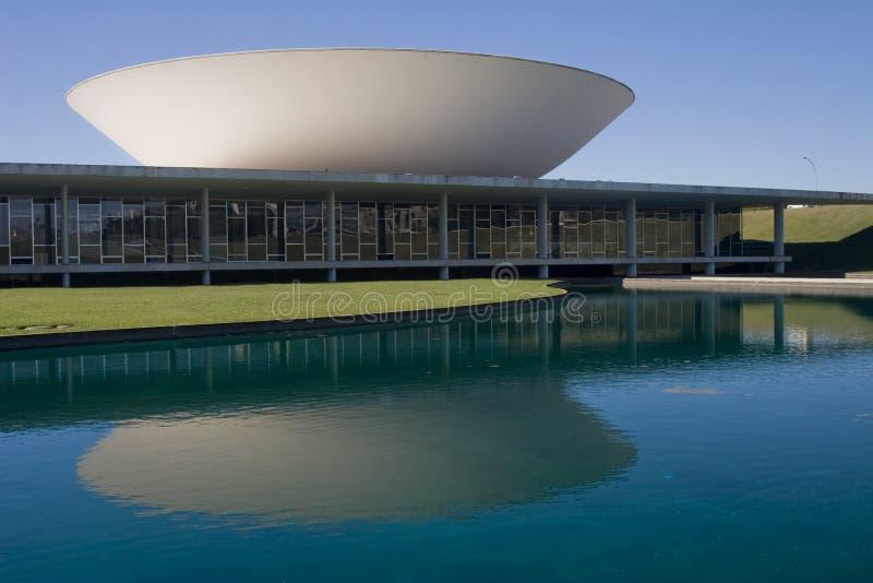 brazil kongressnational arkivfoton