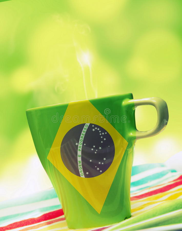 Free Brazil Mug Stock Images - 41109084