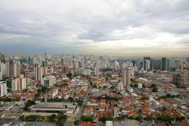 brazil paulo sao royaltyfri bild