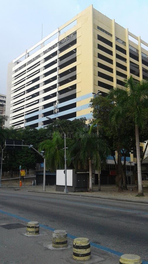 Brazil - Rio de Janeiro - Primeiro de Marco Street - Downtown - Terminal Garagem Menezes Côrtes. Brazil - Rio de Janeiro - Rua Primeiro de Marco - Building stock images