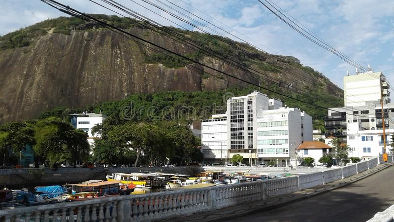 Brazil - Rio de Janeiro - Urca stock image
