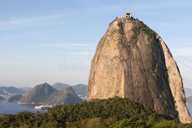 Brazil_Rio_Sugar Loaf royalty free stock photos