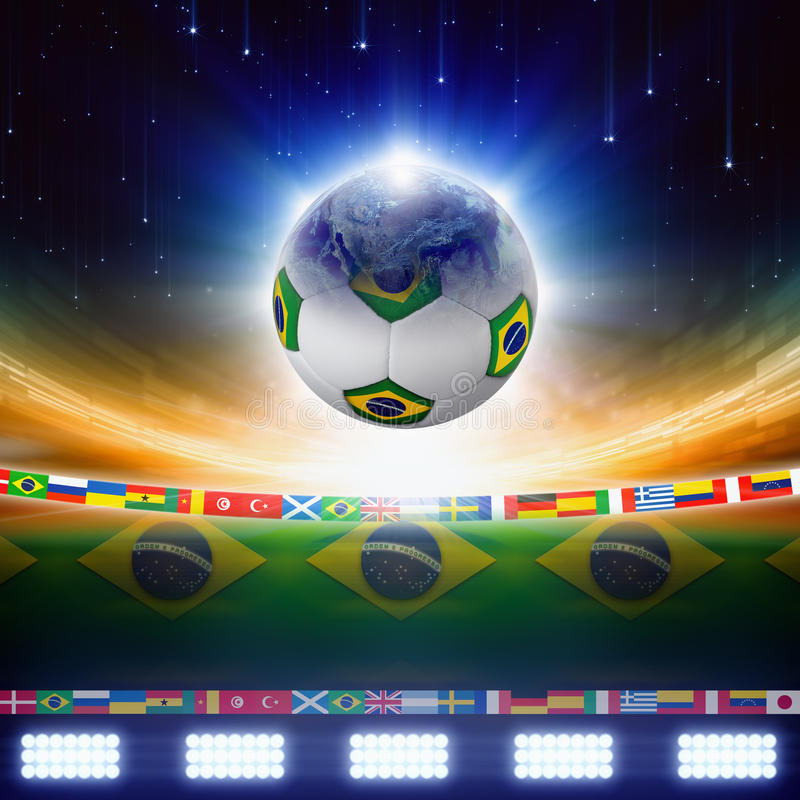 Download 2014 Brazil soccer stock image. Image of match, championship - 37091121
