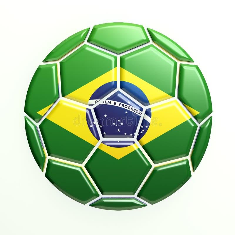 Brazil Soccer Ball royalty free stock photography