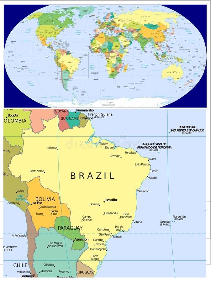Brazil world stock illustration illustration of central 83438771 download brazil world stock illustration illustration of central 83438771 gumiabroncs Image collections