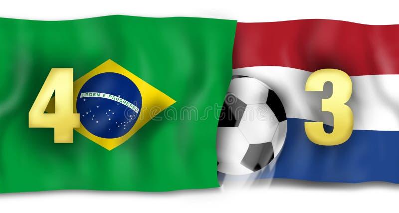 Download Brazilan 4to Y Netherland 3ro Stock de ilustración - Ilustración de ilustración, competición: 42428155