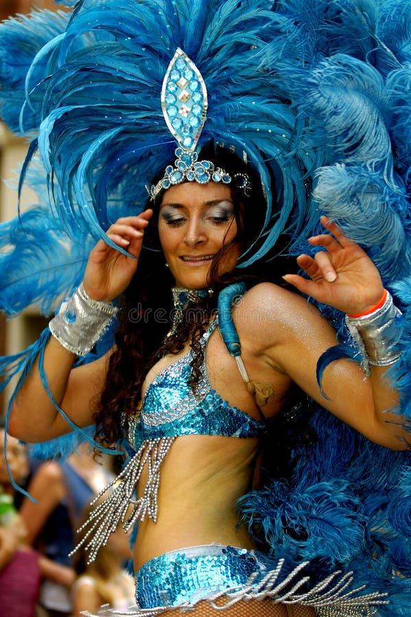 Braziliaans Carnaval. stock afbeelding