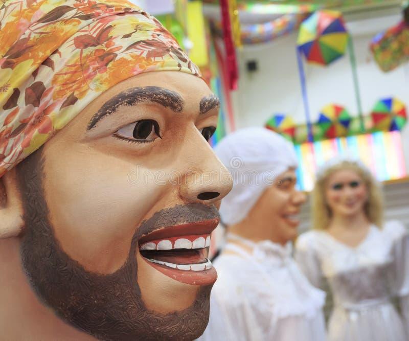 Braziliaans Carnaval stock foto's