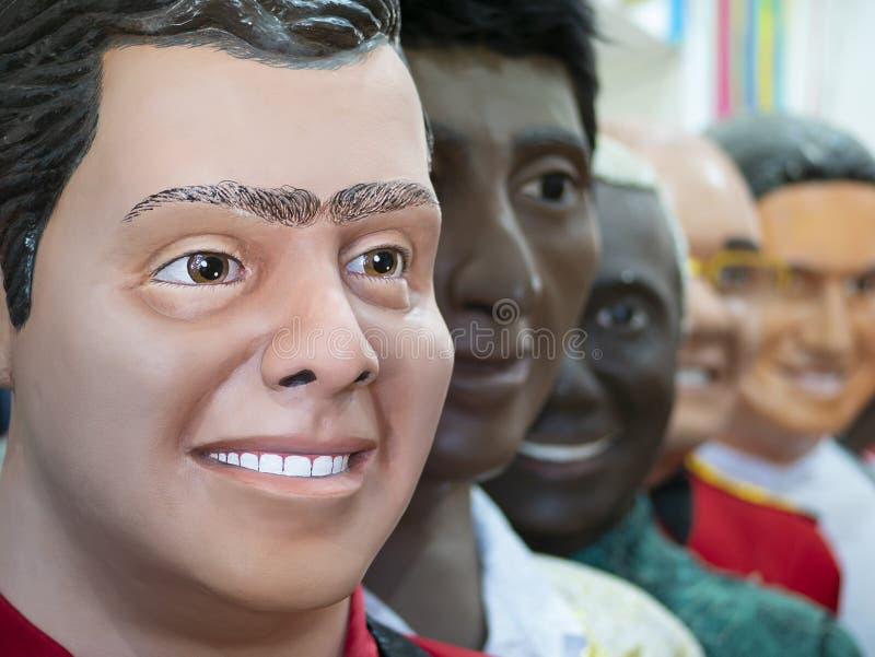 Braziliaans Carnaval-Decor royalty-vrije stock fotografie