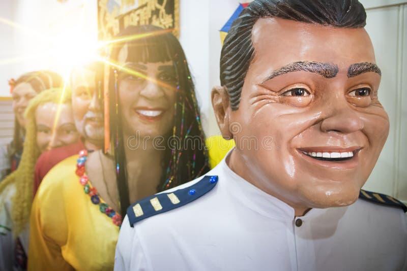 Braziliaans Carnaval-Decor stock foto