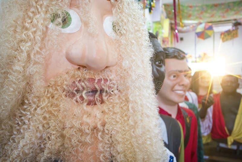 Braziliaans Carnaval-Decor royalty-vrije stock afbeeldingen