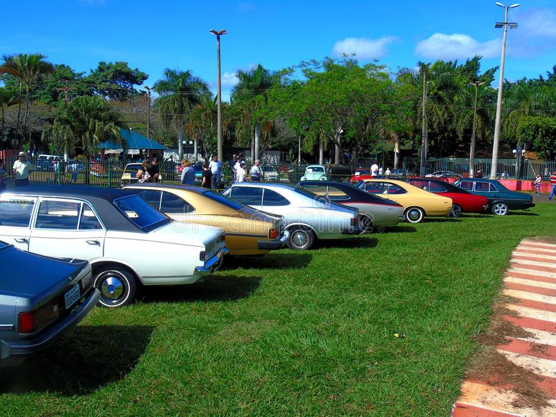Braziliaans Chevrolet Opala royalty-vrije stock fotografie