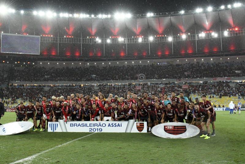 Braziliaans kampioenschap 2019 stock afbeelding