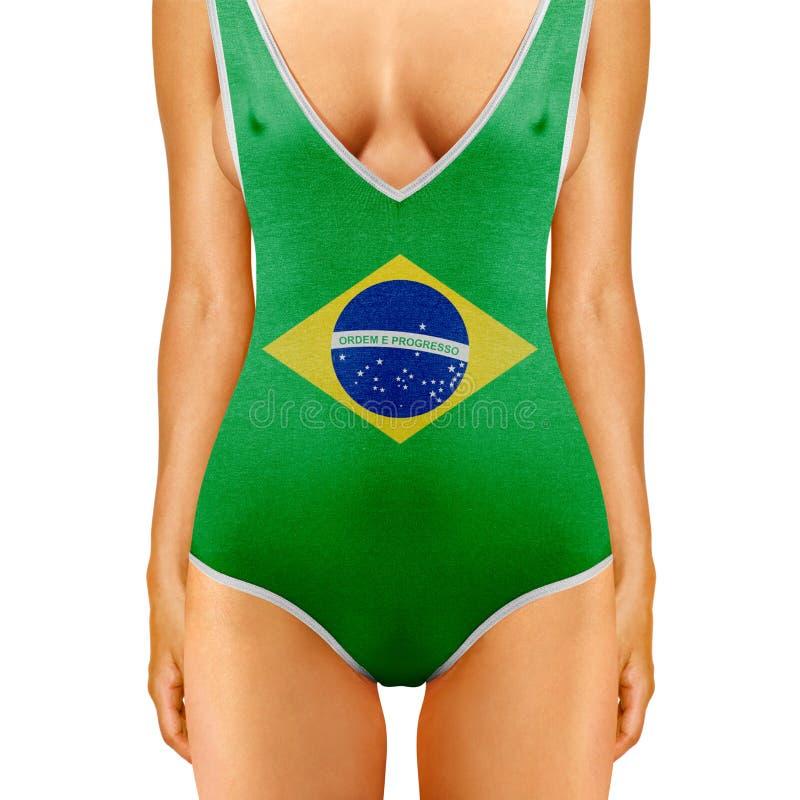 Braziliaans lichaam stock afbeeldingen