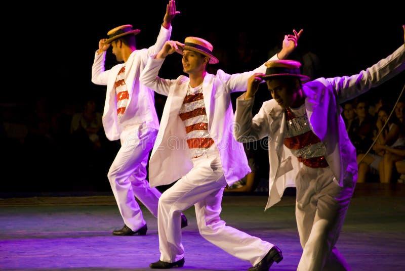 Braziliaanse dansers royalty-vrije stock afbeelding
