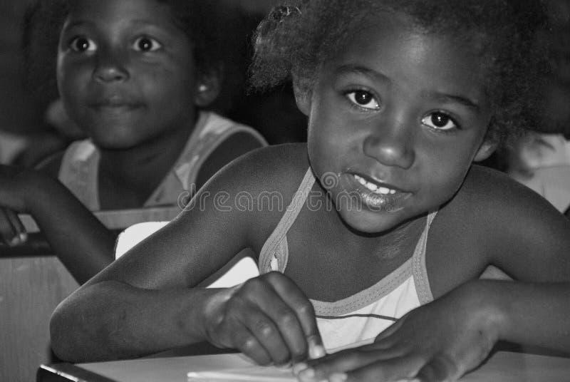 Braziliaanse kinderen royalty-vrije stock foto