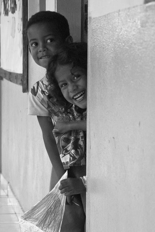 Braziliaanse kinderen stock fotografie