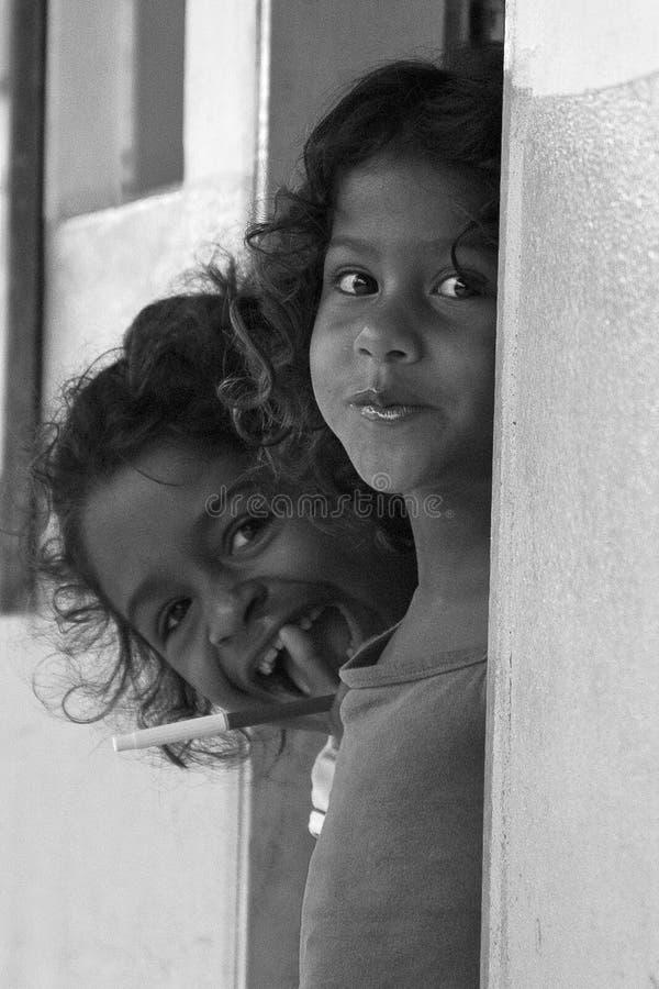 Braziliaanse kinderen stock foto's
