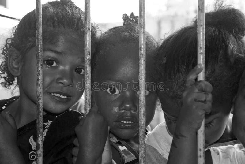 Braziliaanse kinderen royalty-vrije stock afbeelding
