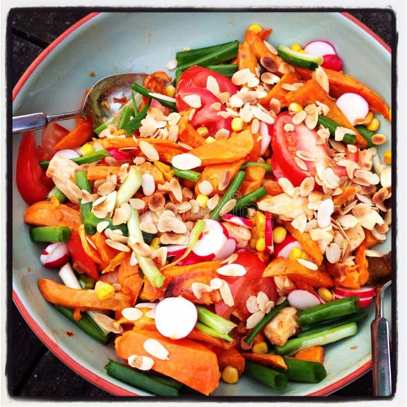 Braziliaanse Salade stock afbeeldingen